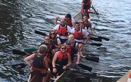 An oarsome charity day for EIC at Race the Dragon