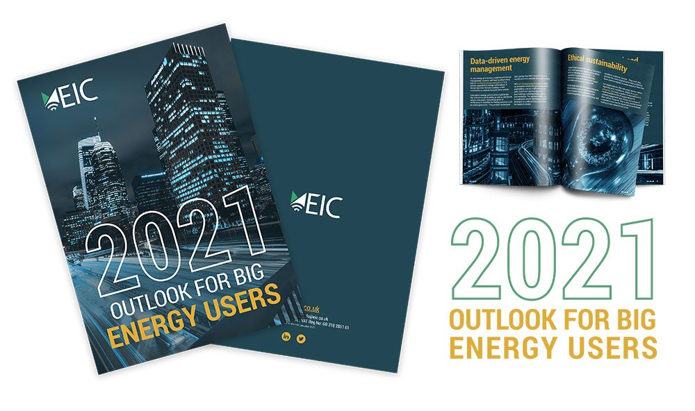 2021 energy outlook for big energy users